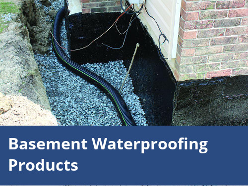 Basement Waterproofing Products