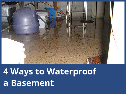 4 Ways to Waterproof a Basement