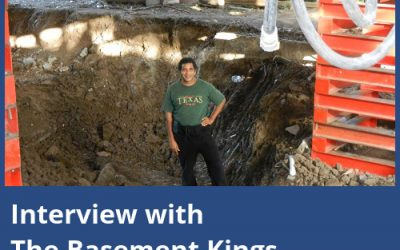 Interview with The Basement Kings – Texas basement waterproofing