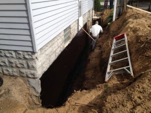 Basement Waterproofing. The Inside/outside Approach Refers To An Incredibly  Expensive Water Control System. The System Involves A Limited Outdoor  System ...