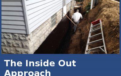 Basement Waterproofing The Inside/Outside Approach